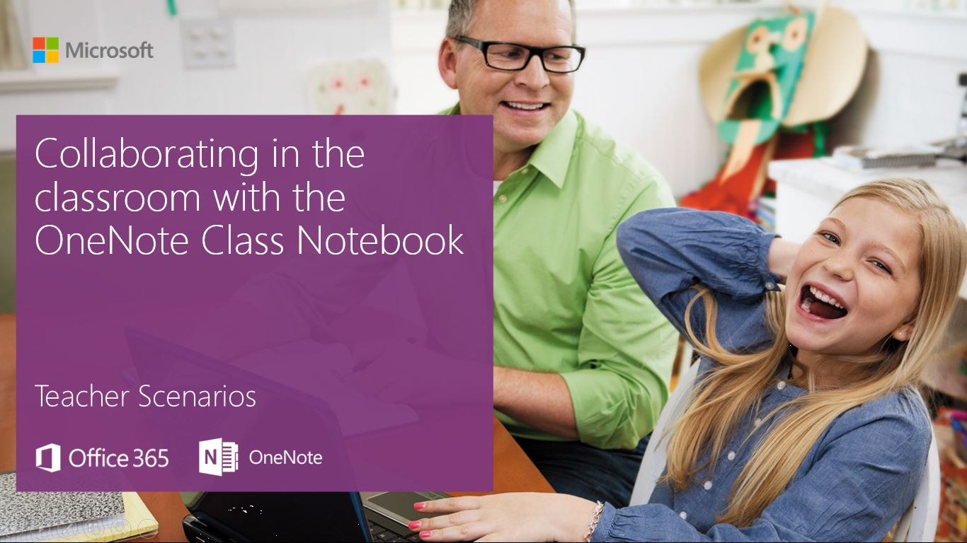 Collaborating In The Classroom With The Onenote Class